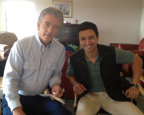 "YHVH Entertainment welcomes the great actor Allen Warchol. Allen Warchol and Patrick Duffy in the TV series""Dallas"" YHVH Entertainment Artist Management. www.yhvhentertainment.com"