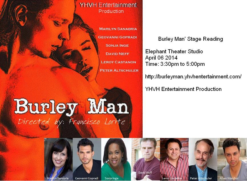 poster burley man network